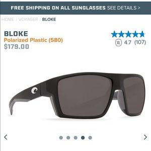 Brand new Costa Bloke fishing sunglasses